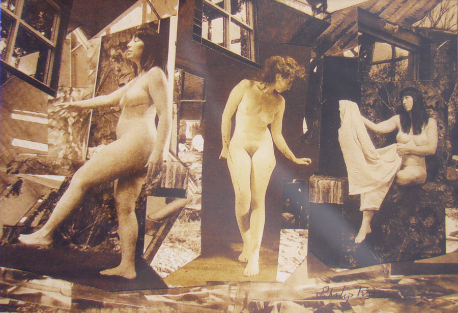 Photomontage With 3 Women