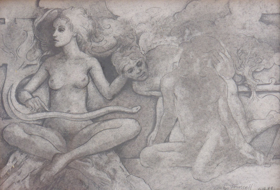 Untitled Pencil Drawing, January 18, 1988