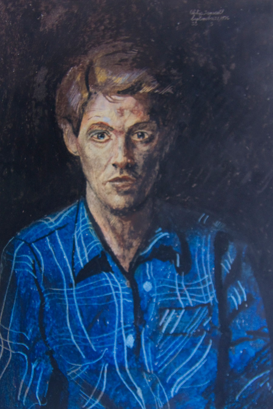 Self Portrait, September 23, 1976